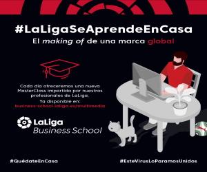 Image Laliga Business School ofrece masterclasses gratuitas con expertos en fútbol